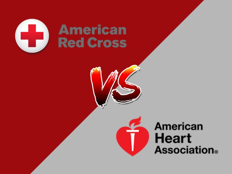 Red Cross VS AHA BLS