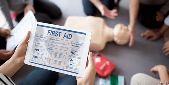 First Aid Certification Classes