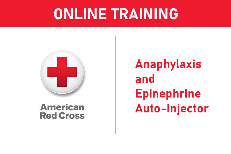 American Red Cross Anaphylaxis and Epinephrine Auto-Injector Online Training